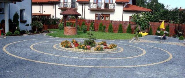 brukarstwo, układanie kostki brukowej, kostka brukowa, ogrodnictwo, ogrody